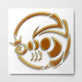Queen Bee - The crest of Tracy Queen Metal Print