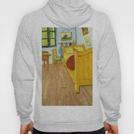 1888-Vincent van Gogh-The Bedroom-72x90 Hoody