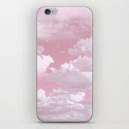 Clouds in a Pink Sky iPhone Skin