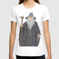 gandalf T-shirts featuring Gandalf Grey-bit by SamuelJay