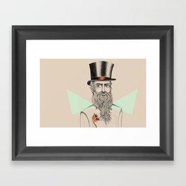 Monsieur Framed Art Print