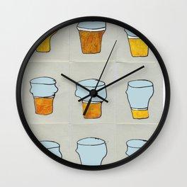 Beer diary. Wall Clock