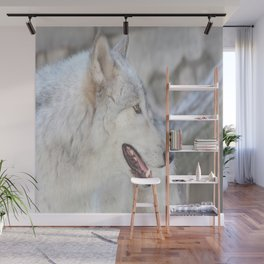 Wolf Profile #2 Wall Mural