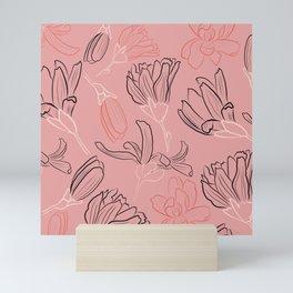 Magnificent magnolias Mini Art Print