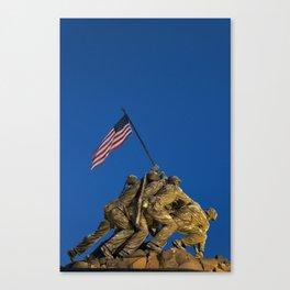Marine Corps War Memorial Canvas Print