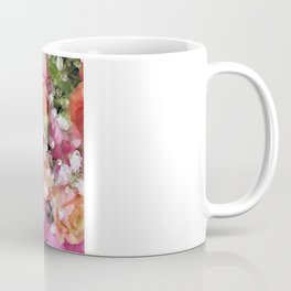 Baby's Breath and Candy Roses Coffee Mug