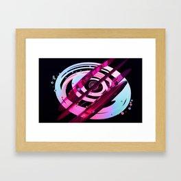 Jelly world Framed Art Print