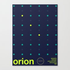 orion single hop Canvas Print
