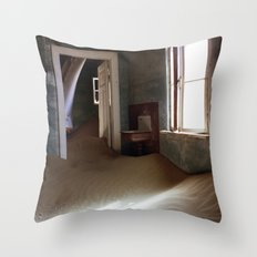 Invaded Throw Pillow