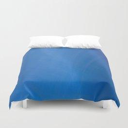 Blue Folds Duvet Cover