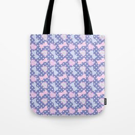 Pretty Baby Brand Whore Allover Pastel Violet Tote Bag