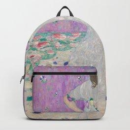 Mäda Primavesi by Gustav Klimt Backpack