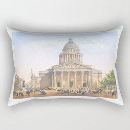 Paris Decor office decoration vintage decor LE PANTHEON of Paris Rectangular Pillow