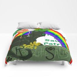 Chat De La St Patrick De Rodolphe Salis Comforters