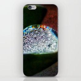 Rainbow Water Droplet iPhone Skin