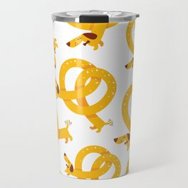 Pretzel Dog Travel Mug