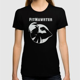 FitMawrter Design in White T-shirt