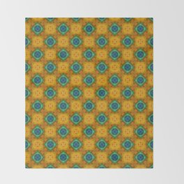 Tryptile 39 (Repeating 2) Throw Blanket