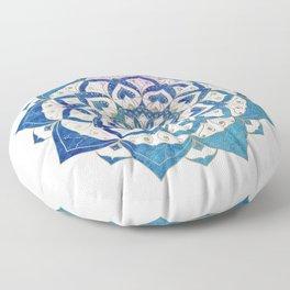 PISCIS CONSTELLATION MANDALA Floor Pillow