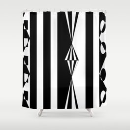 Two of One Shower Curtain