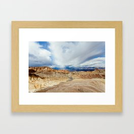 Mountains of Death Valley Framed Art Print