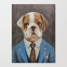 Mr.dog Canvas Print