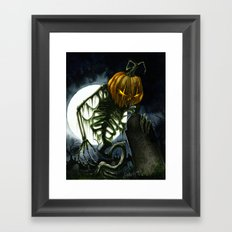 Jack the Reaper Framed Art Print