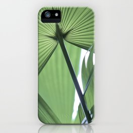 Botanic Touch Light iPhone Case