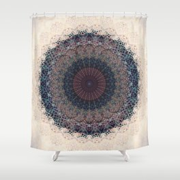 Modern Mandala art Shower Curtain