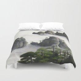 Huángshān (Yellow Mountains) Duvet Cover