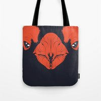 penguin Tote Bags featuring Penguin by CranioDsgn