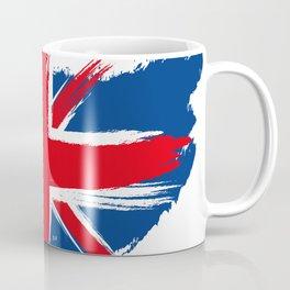 Sketched Union Jack Coffee Mug
