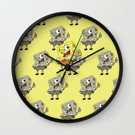 Spongebob OK! Wall Clock