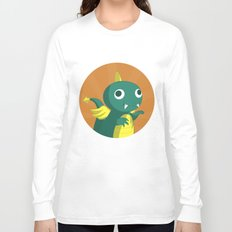 The Dino-zoo: Bat-saurus Long Sleeve T-shirt