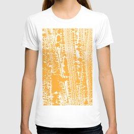 Orange creamsicle Splatter Splash Decor T-shirt