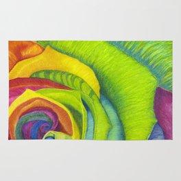 Rainbows of Roses Rug