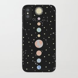 For You - Solar System Illustration iPhone Case