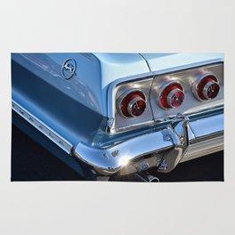 Blue '63 Chevy Impala Rug