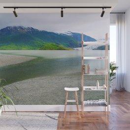 Mendenhall Glacier Lake Alaska Wall Mural