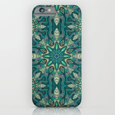 Colorful abstract ethnic floral mandala pattern design iPhone 6s Slim Case