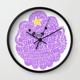 LSP Word Art Wall Clock