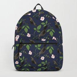 Birds and Blackberries Backpack