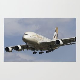 Etihad Airlines Airbus A380 Rug