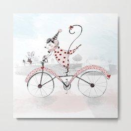 Love Bike Metal Print