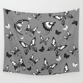 Butterflies in Flight Wall Tapestry