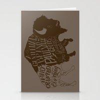 buffalo Stationery Cards featuring Buffalo by Paul McCreery