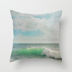 The Painted Sea Throw Pillow