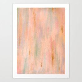 Desert Sunset in Acrylic v.3 Art Print