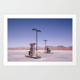 Amargosa Valley Art Print