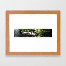 falls2 Framed Art Print